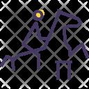 Equestrian Horse Riding Icon