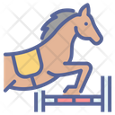 Horse Dressage Showjumping Icon