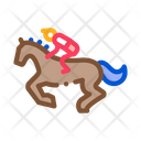 Running Horse Equestrian Icon