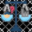 Equilibrium Counterpoise Balance Icon