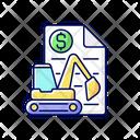 Equipment Leasing Broker Equipment Leasing Icon