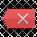 Erase Remove Eraser Icon