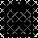 Erase Clipboard Icon