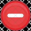 Erase Cut Minus Icon