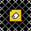 Eraser Rubber File Icon
