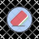Rubber Eraser Stationery Icon