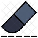 Eraser Ruler Rubber Icon