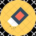 Eraser Rubber Stationery Icon