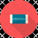 Eraser Tools Design Icon