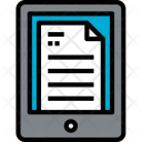 Ereader Device Technology Icon
