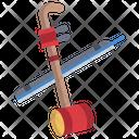 Erhu Musical Instrument Chinese Instrument Icon
