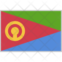Eritrea Flag Country Icon