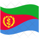 Flag Country Eritrea Icon