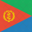 Eritrea Flag World Icon