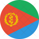 Eritrea Flag World Icon