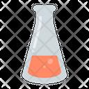 Erlenmeyer Flask Laboratory Icon