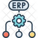 Erp Software Flow Icon