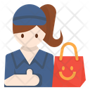 Errand Delivery Courier Icon