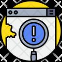 Error Code Error Coding Error Icon