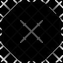 Error Close Cross Icon