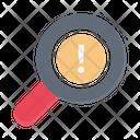 Error Search Warning Icon