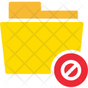 Error Denial Folder Icon