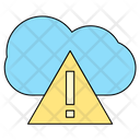 Cloud Error Interent Icon