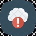 Error Cloud Storage Icon