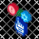 Error Automated Settings Icon