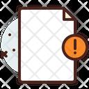 File Warn Icon