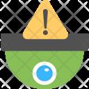 Cctv Warning Alarm Icon