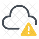 Cloud Network Error Icon