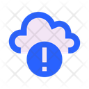Cloud Attention Notice Icon