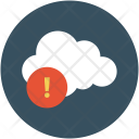 Cloud Error Warning Icon