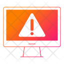 Error Hosting Computer Icon