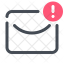 Error In Mail Icon