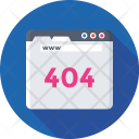 Error 404 Web Icon