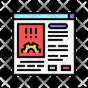 Errors Report Color Icon