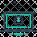 Bluescreen Error Monitor Icon