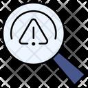 Error Search Icon