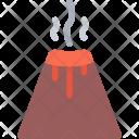 Eruption Nature Phenomenon Icon