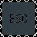 Esc key Icon