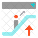 Escalator Up Direction Icon