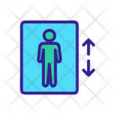 Elevator Business Climb Icon