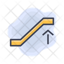 Airport Escalator Up Icon