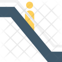 Escalator Down Arrow Icon