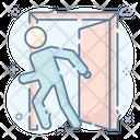 Escape Walk Out Depart Icon