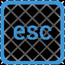 Esc Escape Function Icon