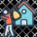 Escape House Displaced Escape Icon