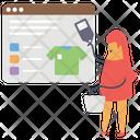 Eshopping Online Shopping Shopping Website Icon